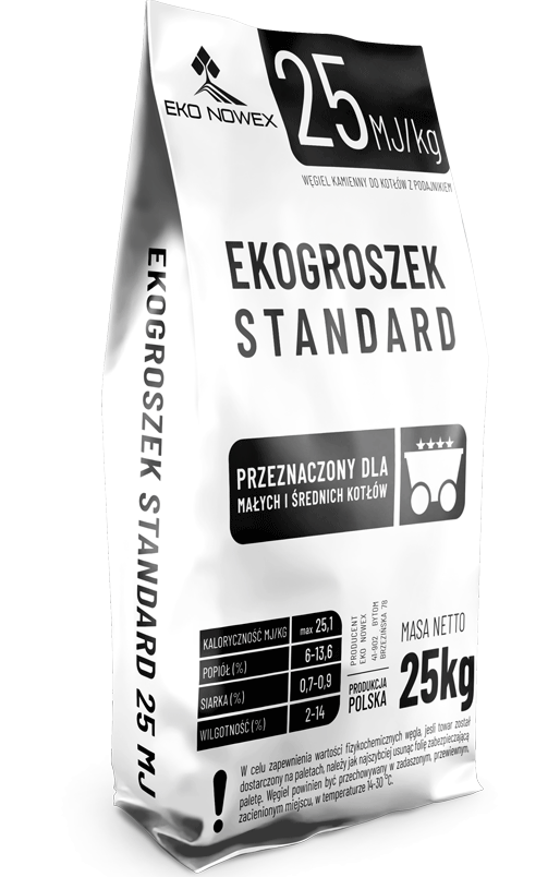 ekogroszek standard